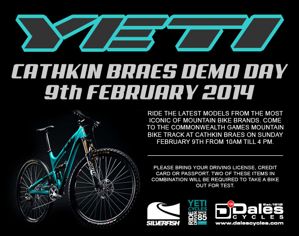 Try out the latest bikes from Yeti Cycles